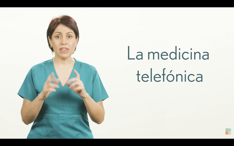 Preparación Para una Consulta de Medicina Telefónica