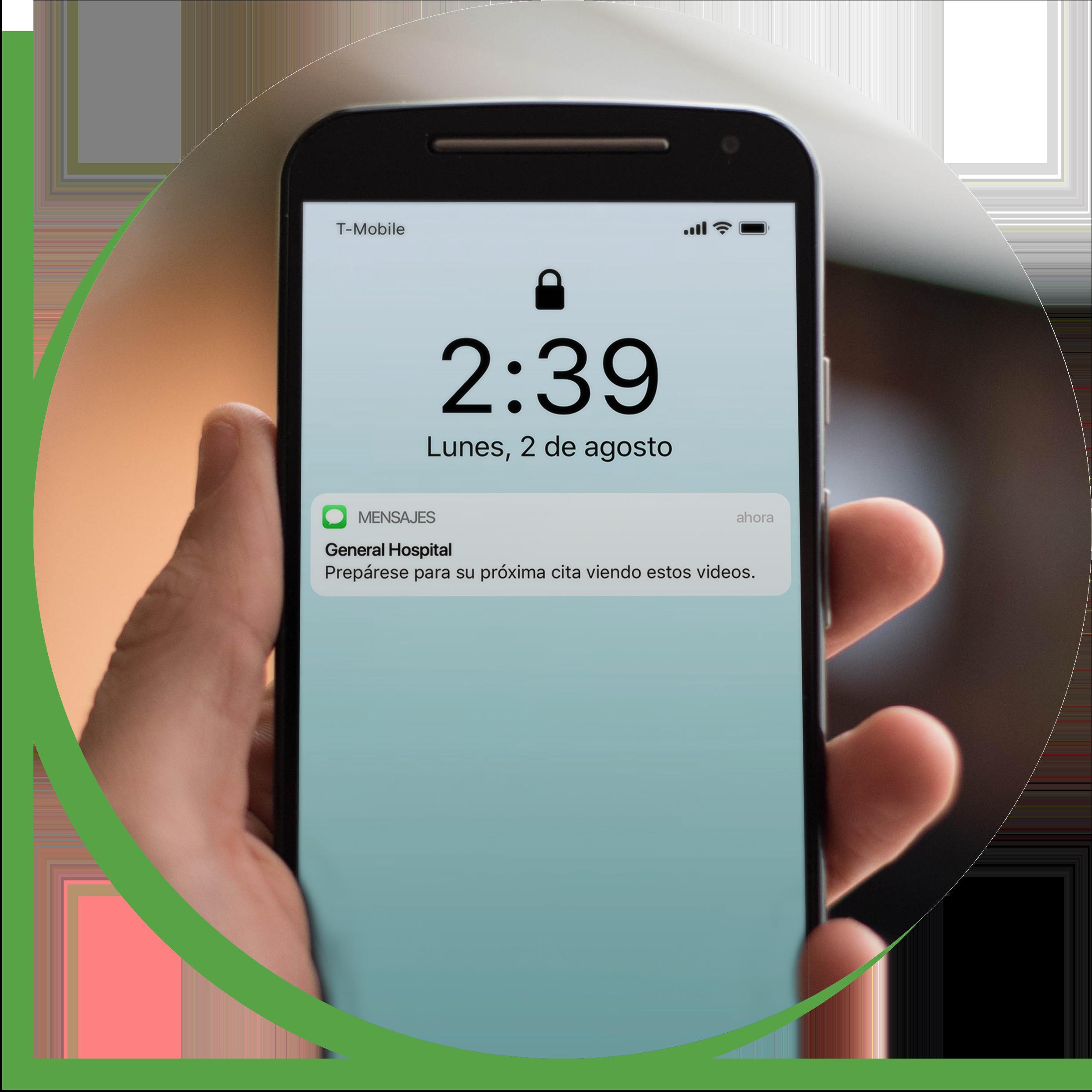 communications cloud_spanish lock screen